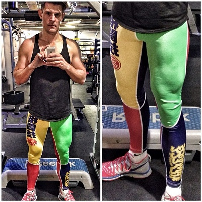 Gay Spandex Lycra -CHALLENGE In the Gym April 2015 photos